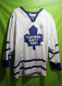 TORONTO MAPLE LEAFS - SIGNED JERSEY - $100