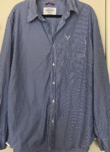 Men's Clothing - AE shirt, Columbia Jacket, Jeans new condition