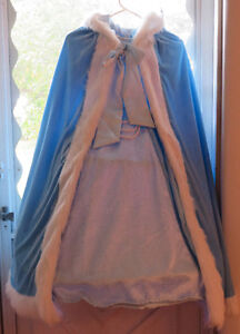 Cinderella dress and cape