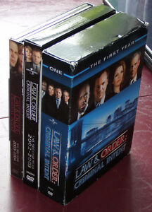 Law & Order: Criminal Intent Seasons 1-3