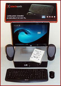 HP Desktop PC - Win10 w/ Disk 750GB 5GB Dual Core 2GHz