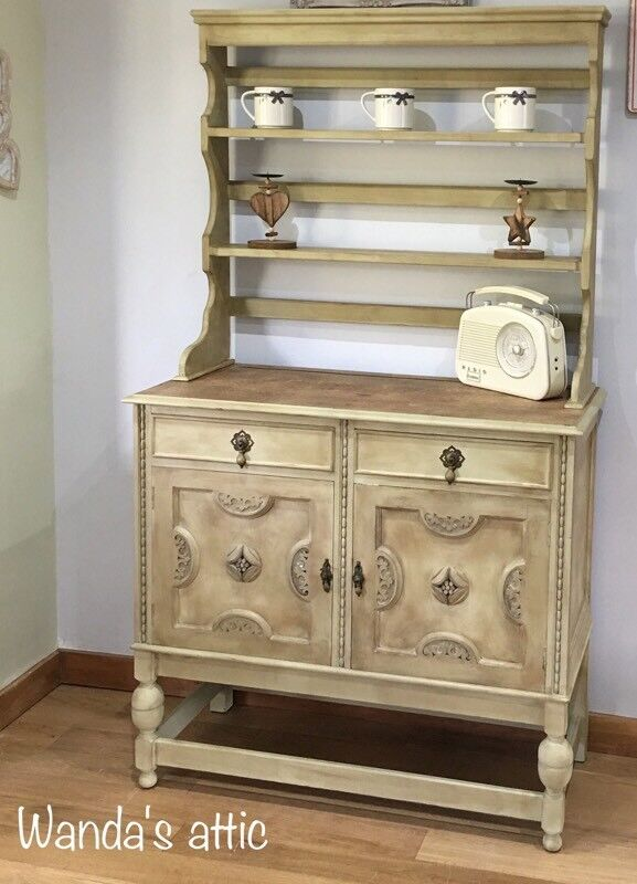 Shabby Chic Hand Painted sideboard