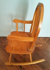 Childs Solid Wood Rocking Chair London Ontario image 2