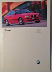 1995 BMW 3 series coupes brochure.