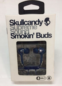Skullcandy    Smokin Buds - Earphones ( Brand New  )