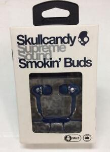 Skullcandy Smokin Buds - Earphones ( Brand New )