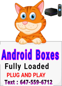 ANDROID BOXES 2019 MODELS  ( NO MONTHLY FEE )  x96 t9 iptv ip