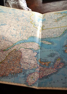 National Geographic, Atlas of North America, Very, Very Large Kitchener / Waterloo Kitchener Area image 2