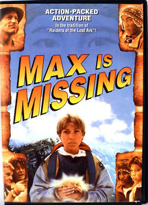 Max Is Missing DVD-kids adventure film-Great condition