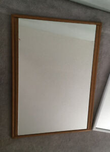 2 Med/Large Framed Wall Mirrors - Good condition - Buy 1 or 2
