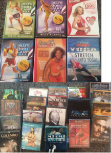 A mix of Several DVD's