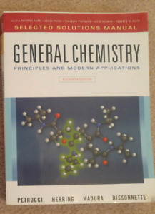 General Chemistry Solutions Manual (chem 1000/1001/1500)