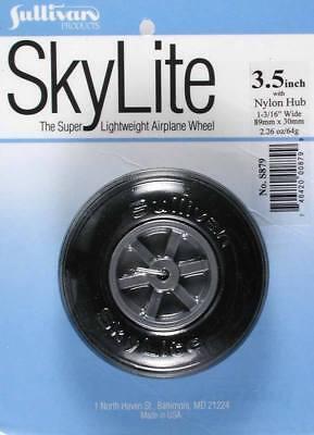 New Sullivan Products RC Airplane S879 879 SkyLite Wheel Tire 3.5