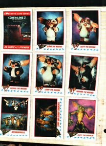 1990 Topps Gremlins 2 The New Batch. Set of 88 Cards