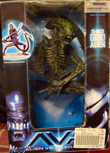 Large Alien and Spawn figures $12 each