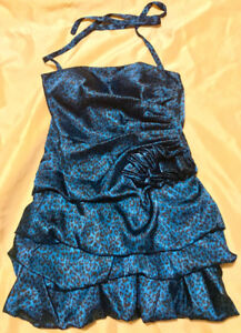 Laura's Turquoise Cokteil Dress - Size Small