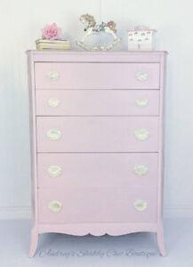 Prettier in Pink Tall Dresser