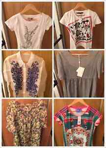 some new tops for sale