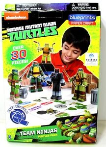 Teenage Mutant Ninja Turtles Paper Craft