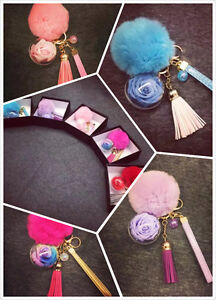Preserved Flower Key Chain-The Best Gift for Your Love St. John's Newfoundland image 4