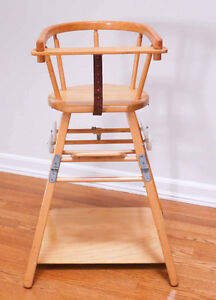 High Chair, Mid-Century Scandinavian Design