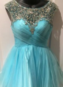 Grade 8 Graduation or Prom Formal Dress with Tulle