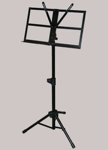 Music Stand Yorkville Heavy Duty Black