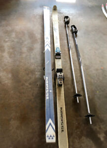 Kneissl Downhill Skiis and Poles