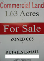 COMMERCIAL ZONED LAND-1.63 Acres-North London, Ont.