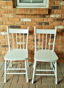 Solid Wood Vintage Chairs
