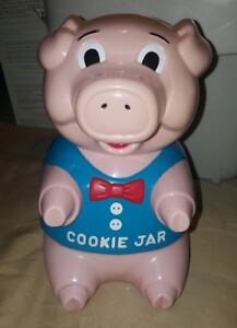 THE ORIGINAL OINKING PIG COOKIE JAR FROM
