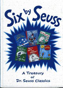 SIX BY SEUSS - A TREASURY OF DR. SEUSS CLASSICS