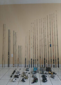 FISHING GEAR RODS REELS LURES LINES TACKLES BOX NET LANTERN
