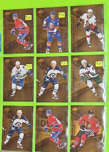 Pure Gold Hockey Cards for Sale TIM HORTONS 2016/2017 Upper Deck Belleville Belleville Area image 3