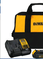 Drill, tool bag and Accessories