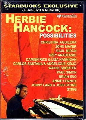 Factory Sealed Herbie Hancock Possibilities  Dvd   Cd  2008  2 Disc Set