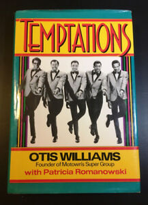 Temptations by Otis Wiliams group founder original hardcover