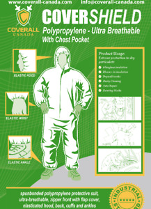 Disposal Coveralls - Ultra Breathable and Protective Garments