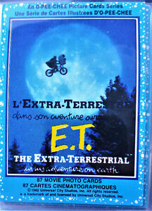 1982 ET The Extra Terrestrial Collector's cards complete set 87