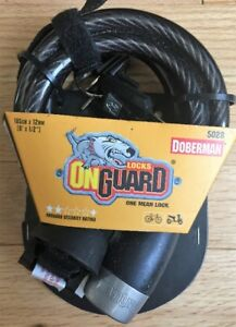 ONGUARD DOBERMAN BICYCLE LOCK, NEW, STILL IN PACKAGING