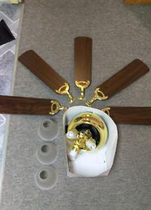 5 blade ceiling fan. $50 OBO