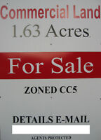 COMMERCIAL ZONED LAND-1.63 Acres-Fanshawe Rd.-North London.