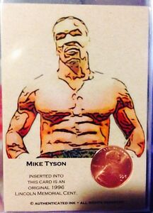 Mike Tyson Trading card boxing