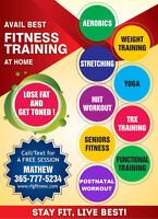 AFFORDABLE PERSONAL TRAINER -$40/HR