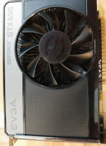 EVGA Geforce GTX 650 video card