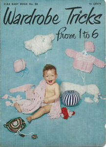 Vintage Knitting/Crochet Patterns for Babies, Star Baby Book 88
