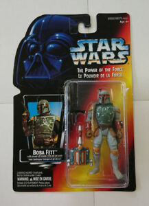 Star Wars Power of the Force Boba Fett by Kenner 1995