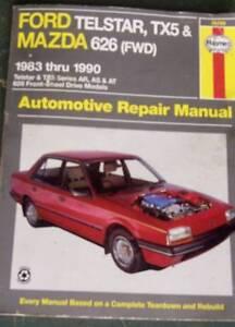 200B Datsun, Ford Telstar TX5 & Mazda 626 '83 to '90 workshop man Wynnum West Brisbane South East Preview