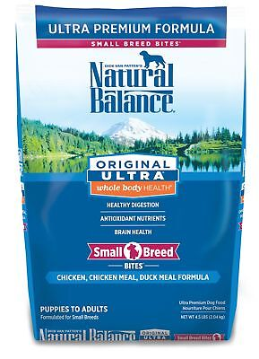 Natural Balance Small Breed Bites Dry Dog Food, Original Ultra Whole Body