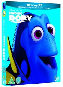 3D + BLU RAY! DISNEY'S FINDING DORY